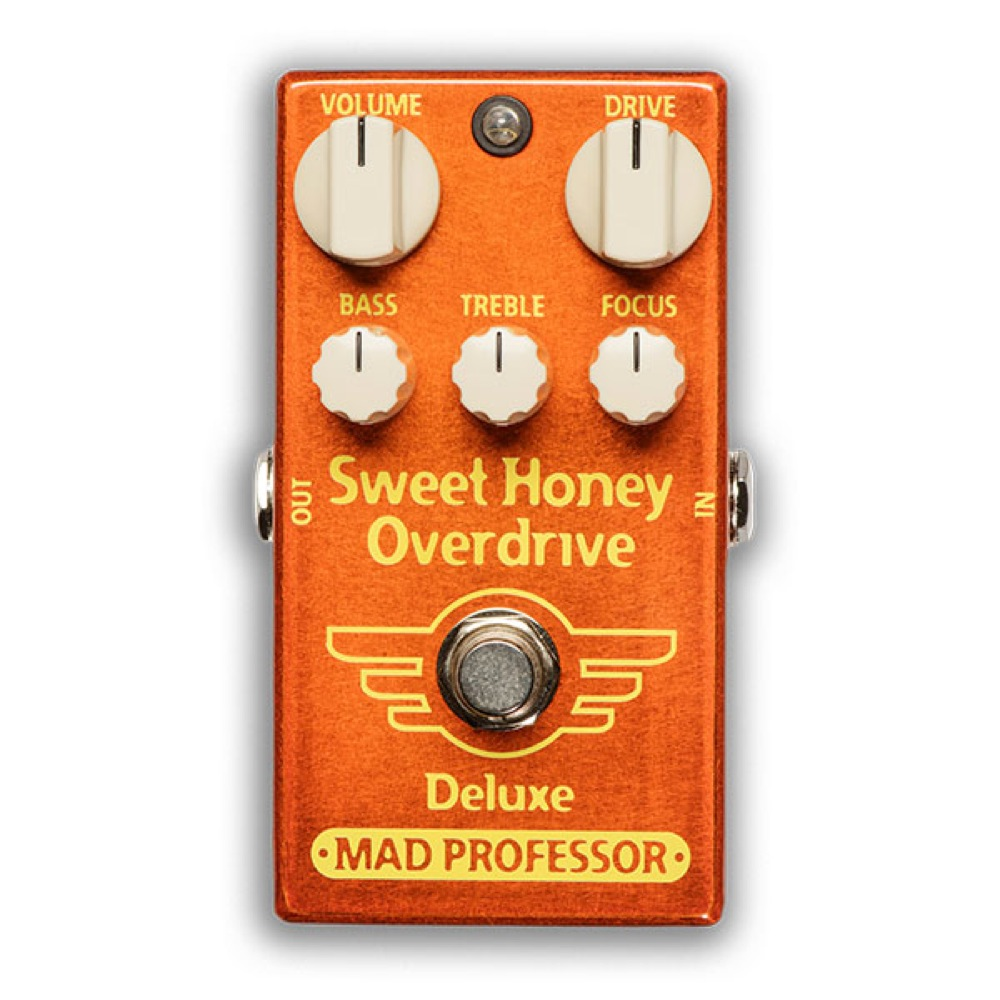 Mad Professor Sweet Honey OD Deluxe FAC オーバードライブ ギターエフェクター