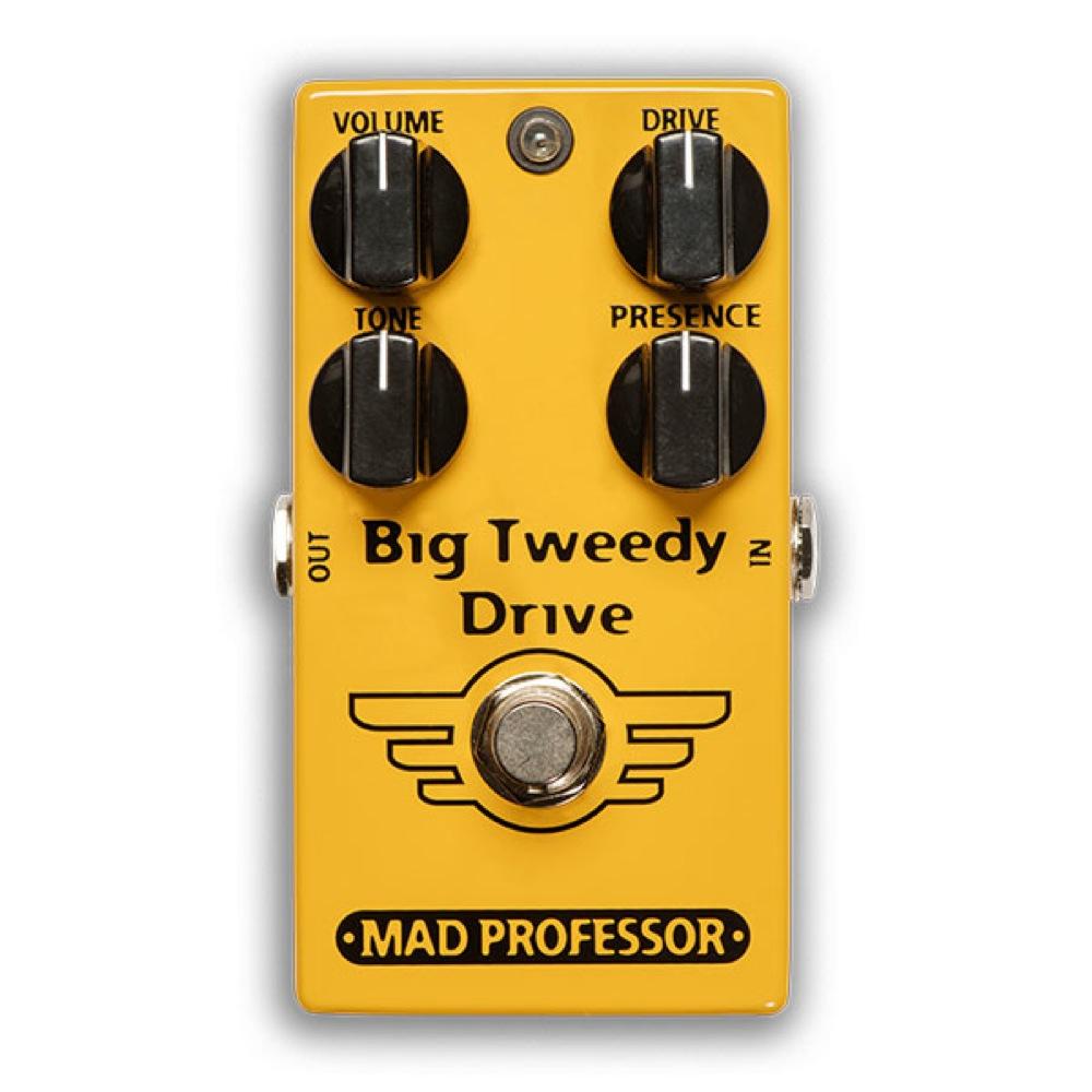 Mad Professor Big Tweedy Drive FAC オーバードライブ ギターエフェクター