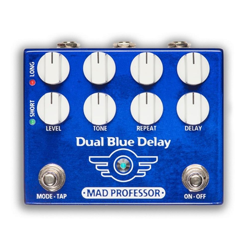 Mad Professor Dual Blue Delay FAC 電源アダプター付き ディレイ ギターエフェクター