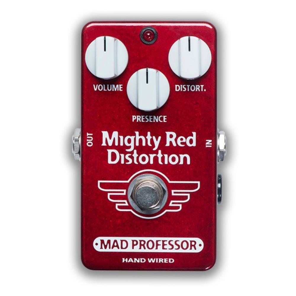 Mad Professor Mighty Red Distortion HW アダプター付き ディストーション ギターエフェクター ハンドワイアード