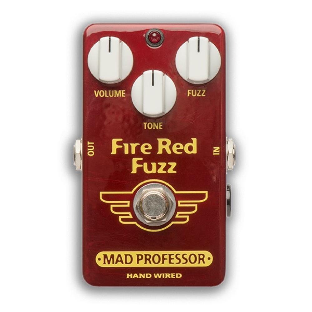 Mad Professor Fire Red Fuzz HW アダプター付き ファズ ギターエフェクター ハンドワイアード