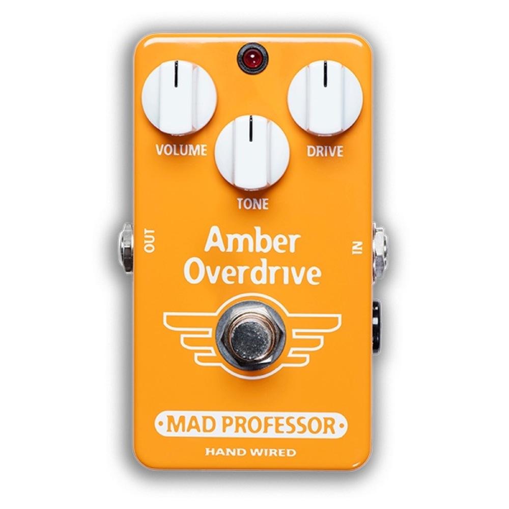 Mad Professor Amber Overdrive HW アダプター付き オーバードライブ ギターエフェクター ハンドワイアード