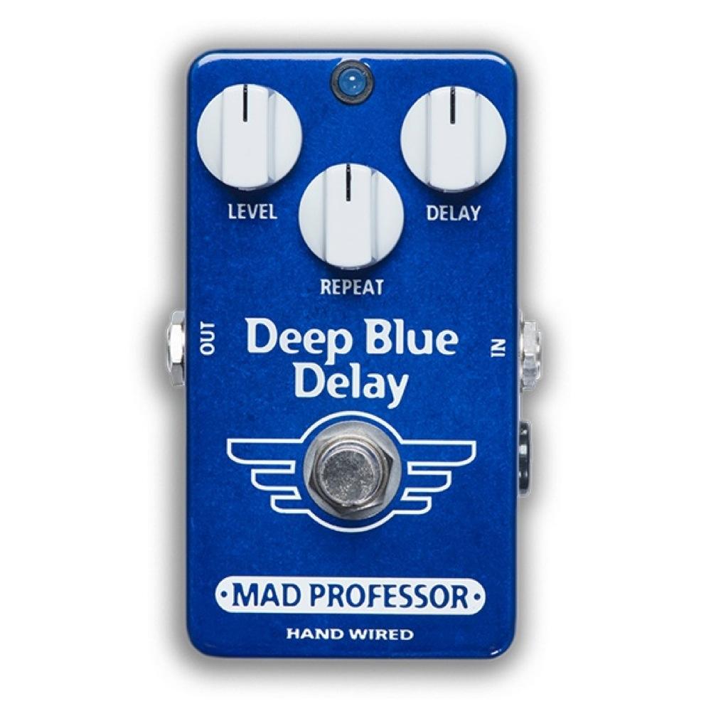 Mad Professor Deep Blue Delay HW アダプター付き ディレイ ギターエフェクター ハンドワイアード