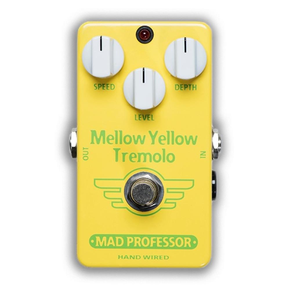 Mad Professor Mellow Yellow Tremolo HW アダプター付き トレモロ ギターエフェクター ハンドワイアード