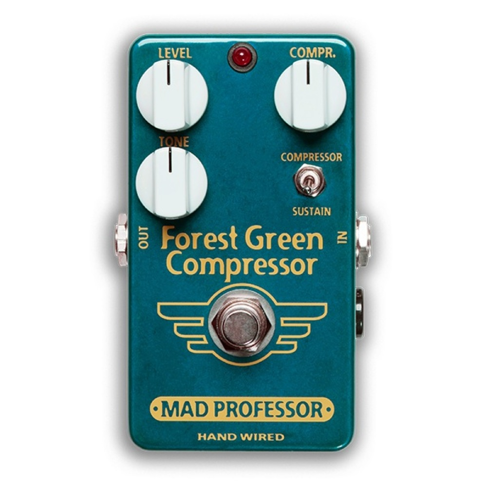 Mad Professor Forest Green Compressor HW アダプター付き コンプレッサー ギターエフェクター ハンドワイアード