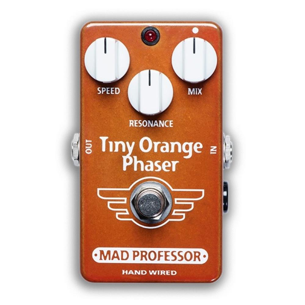 Mad Professor Tiny Orange Phaser HW アダプター付き フェイザー ギターエフェクター ハンドワイアード