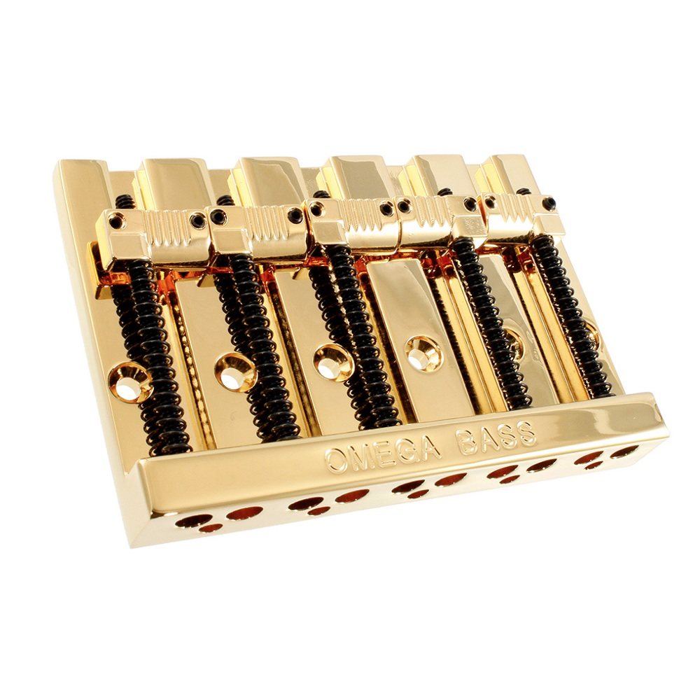 ALLPARTS Bridges 6079 BB-3361-002 5-String Grooved Omega Bass Bridge 5弦ベース用ブリッジ