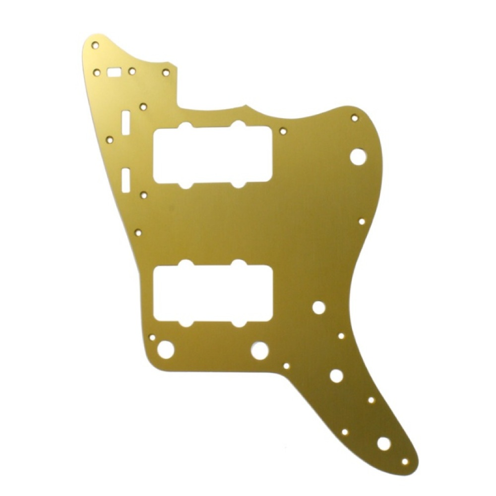 ALLPARTS Pickguards 8066 PG-0582-060 Gold Anodized Pickguard for Jazzmaster ピックガード