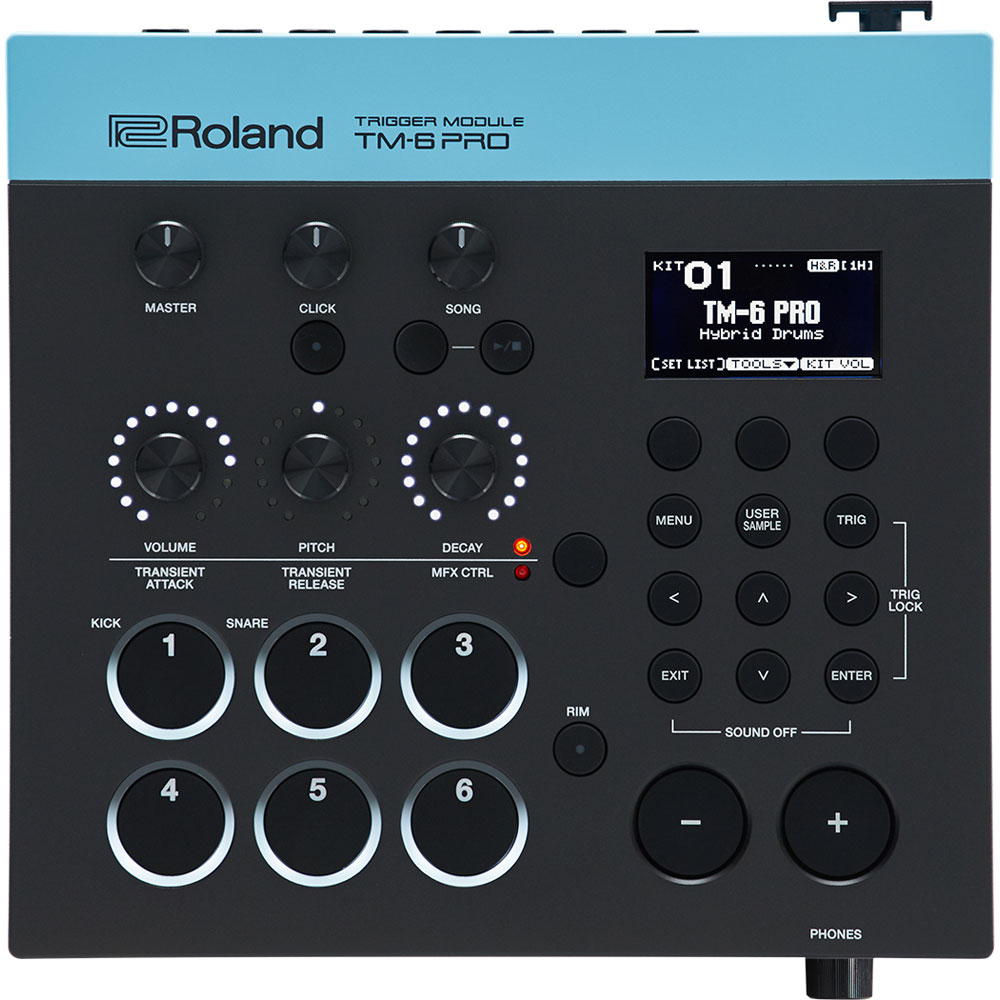ROLAND TM-6 Pro Trigger Module ドラムトリガー音源 ハイブリッドドラム構築に