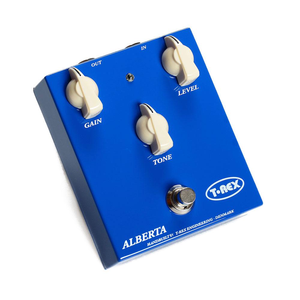 T-REX ALBERTA-DC Alberta Danish Collection オーバードライブ ギターエフェクター