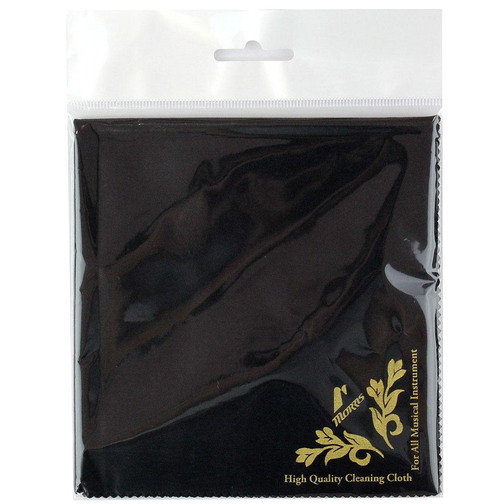 柔軟で滑らかな素材を使用した楽器用クロス MORRIS INSTRUMENT ※アウトレット品 安い ブラック 楽器用クロス CLOTH