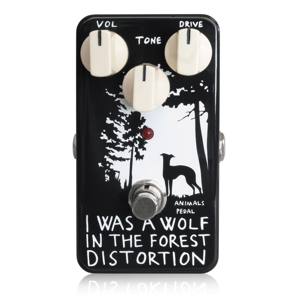 Animals Pedal I WAS A WOLF IN THE FOREST DISTORTION ディストーション ギターエフェクター