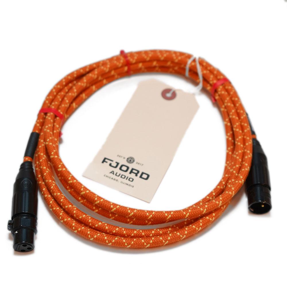 Fjord Audio Fjord XLR Sunset Sound Orange 3.0m マイクケーブル