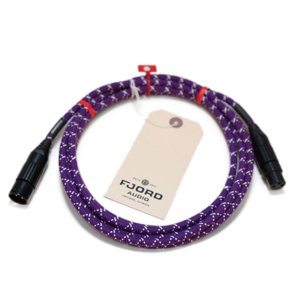 Fjord Audio Fjord XLR Electric Lady Purple 3.0m マイクケーブル