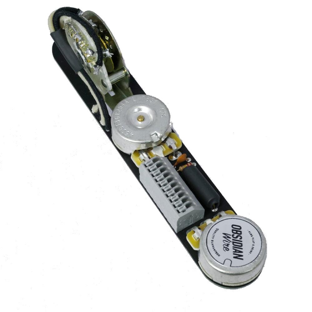 ObsidianWire Custom 4-Way for Tele 250k 0.047uF エレキギターパーツ