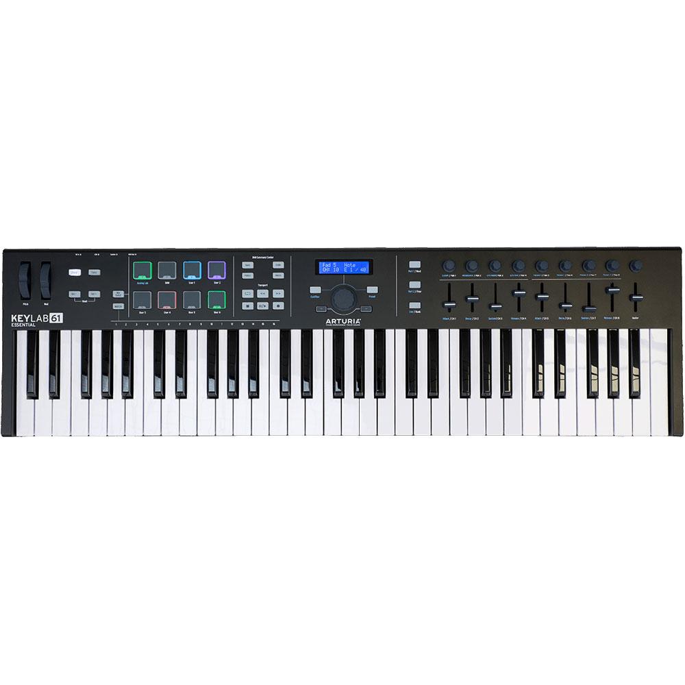 ARTURIA KeyLab Essential 61 Black Edition 61鍵 MIDIキーボード 限定ブラックエディション