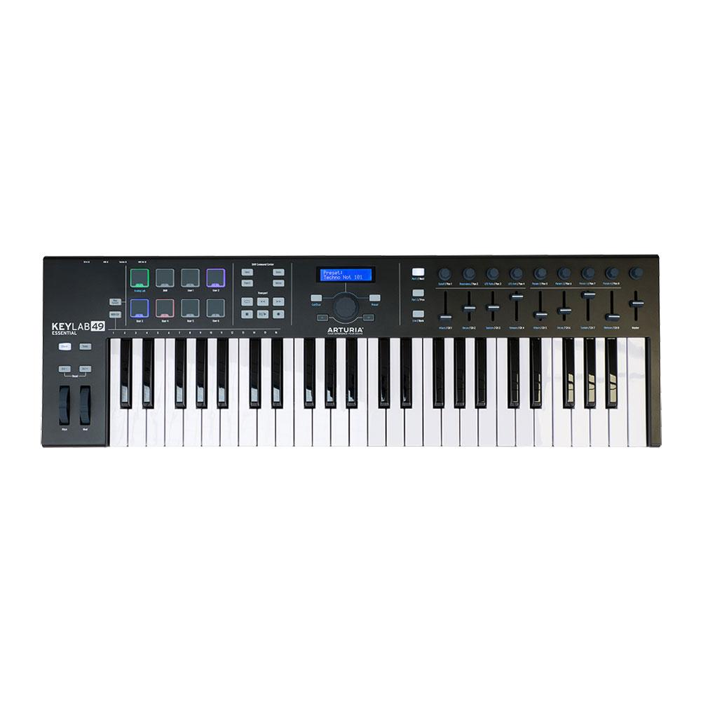 ARTURIA KeyLab Essential 49 Black Edition 49鍵 MIDIキーボード 限定ブラックエディション