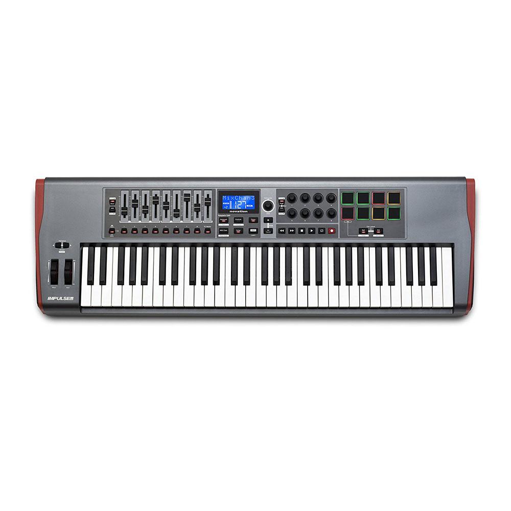 novation IMPULSE 61 MIDIコントローラー キーボード