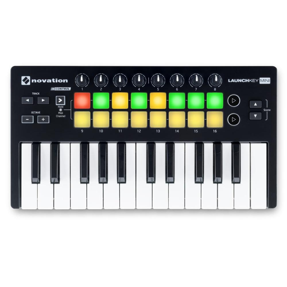 novation LAUNCHKEY MINI MKII MIDIキーボード コントローラー