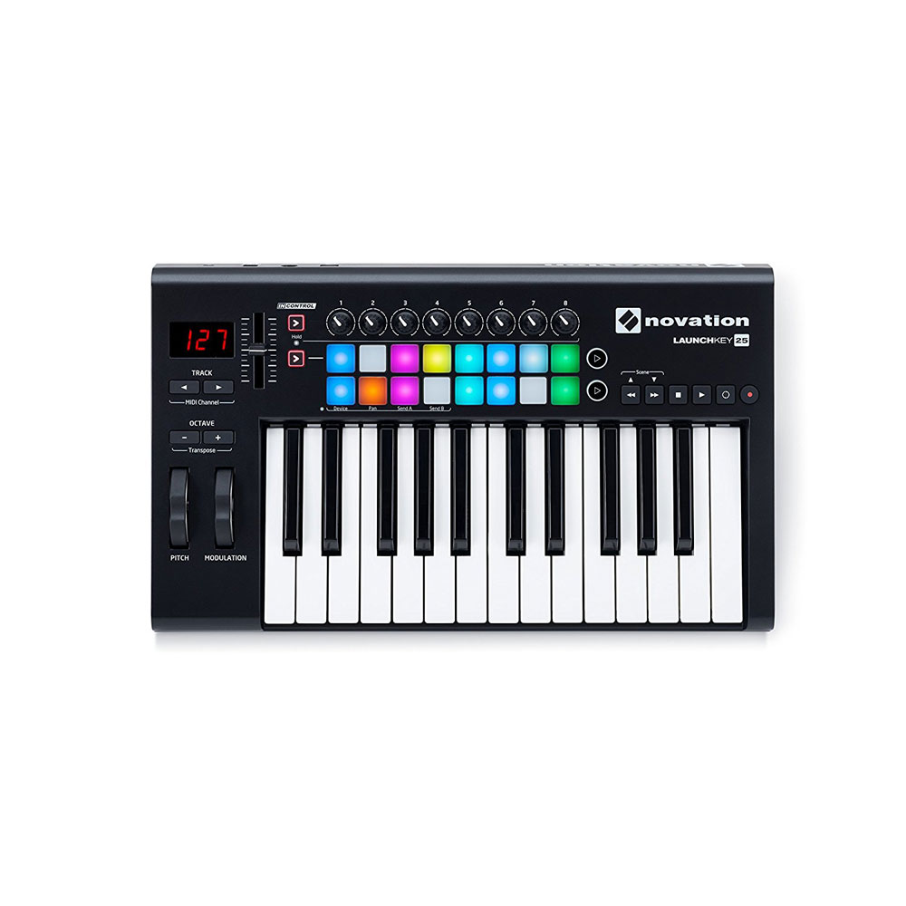 novation LAUNCHKEY 25 MKII MIDIキーボード コントローラー