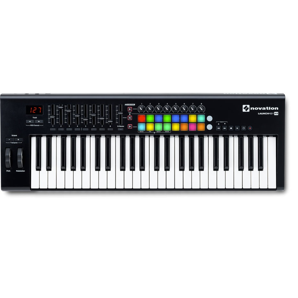 novation LAUNCHKEY 49 MKII MIDIキーボード コントローラー