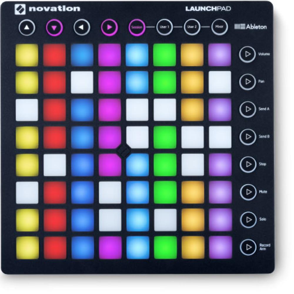 novation LaunchPad MKII MIDIコントローラー