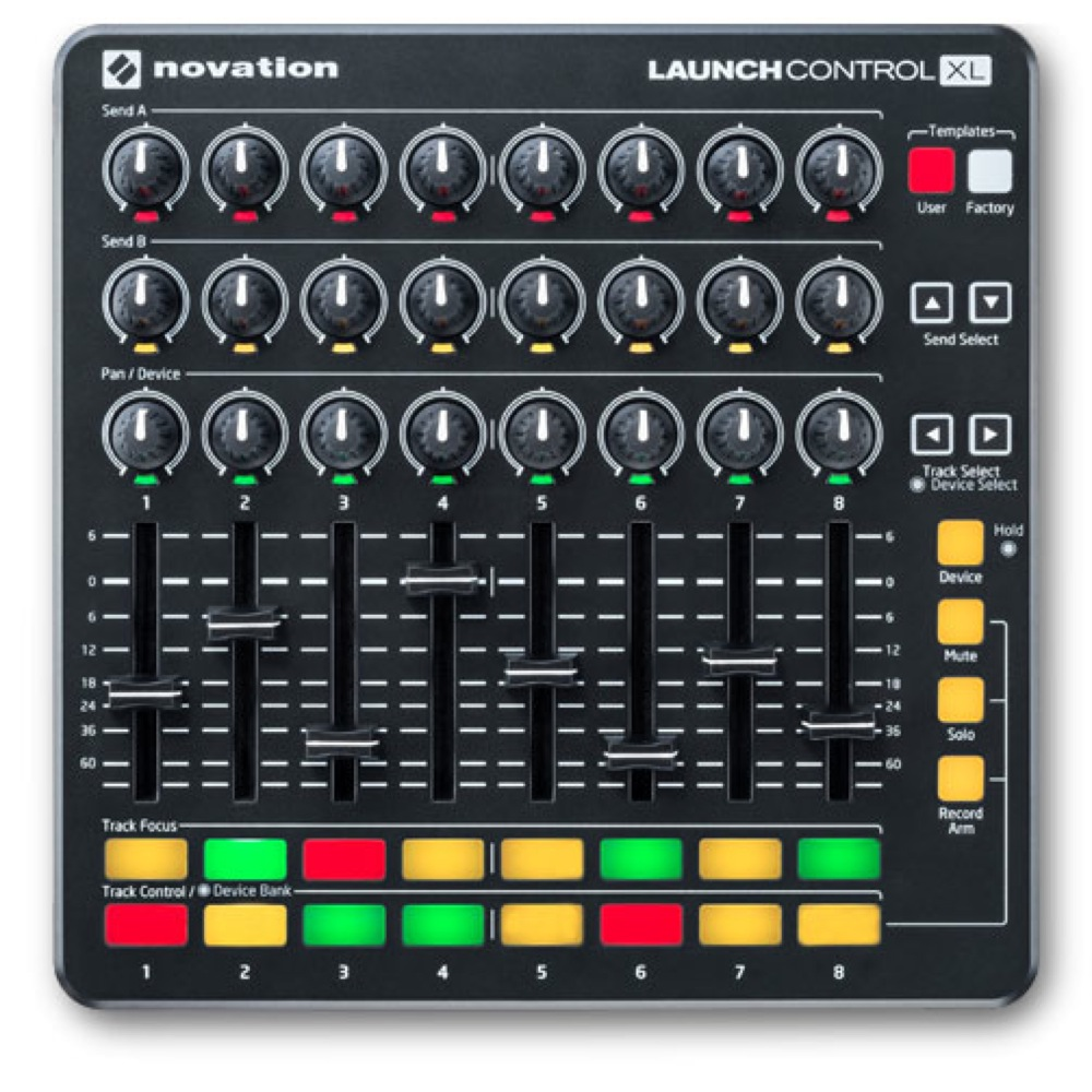 novation LaunchControl XL MKII MIDIコントローラー