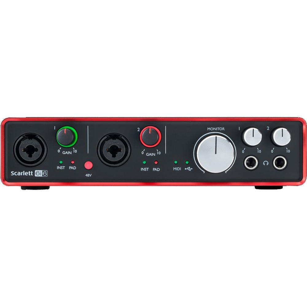 Focusrite Scarlett 6i6 Gen.2 USBオーディオインターフェイス