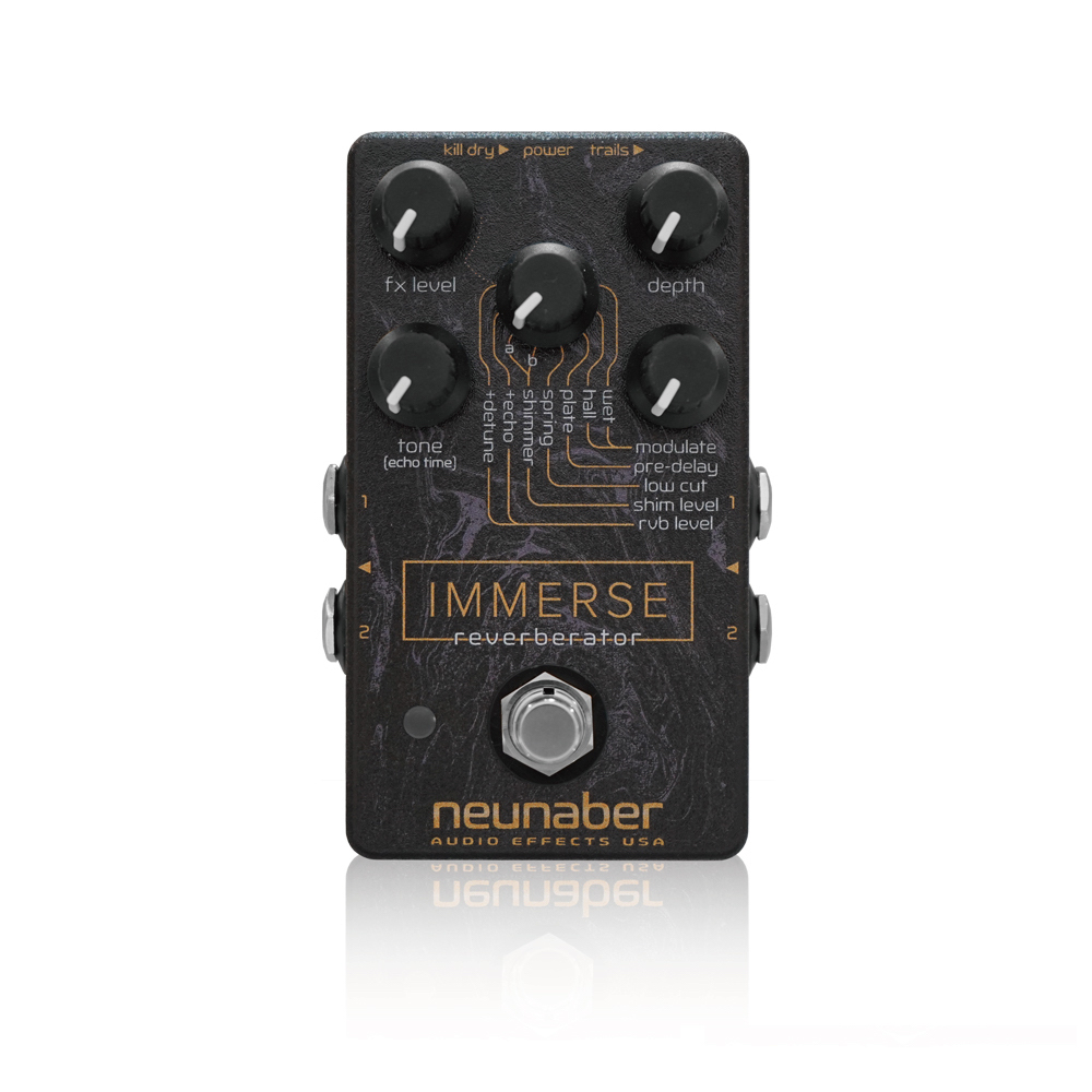 Neunaber Audio Effects Immerse Reverberator リバーブ ギターエフェクター