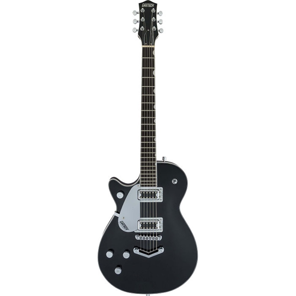 GRETSCH G5230LH Electromatic Jet FT Single Cut with V Stoptail Left Handed Black レフティ エレキギター