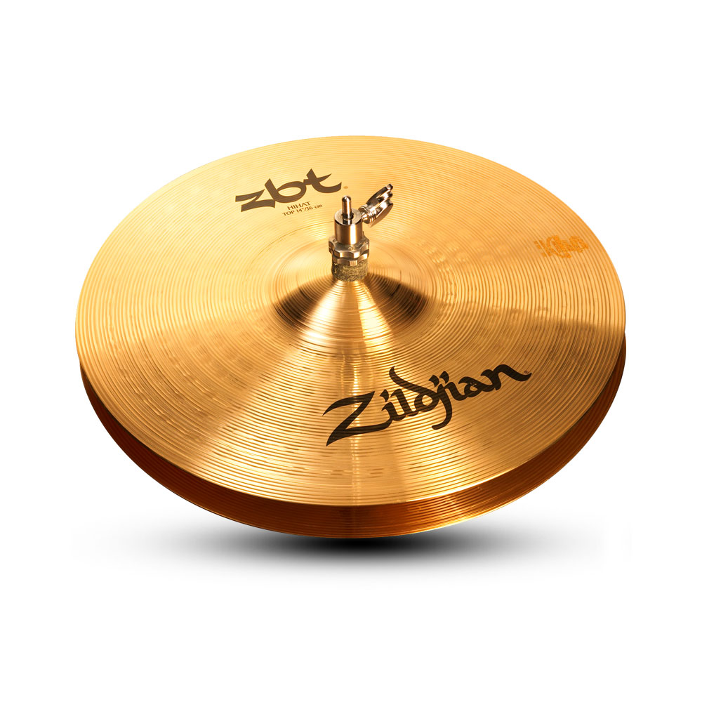 "ZILDJIAN 14"" ZBT HiHat Top Medium Thin ハイハットシンバル"