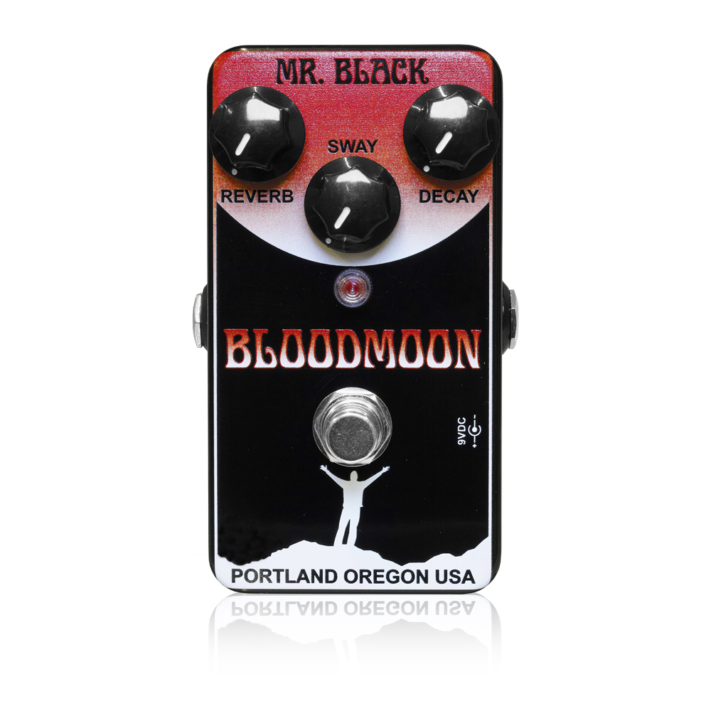 Mr.Black BloodMoon リバーブ エフェクター