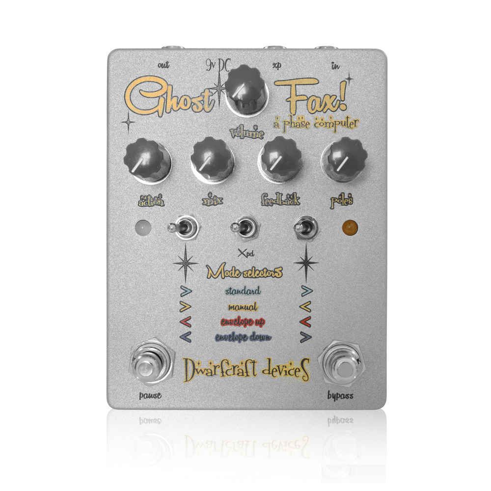 Dwarfcraft Devices Ghost Fax フェイザー ギターエフェクター