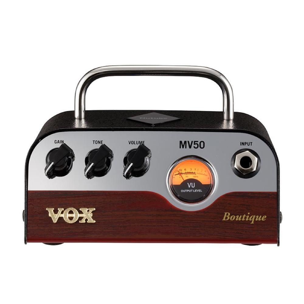 新真空管Nutubeを搭載した超小型ヘッドアンプ 50W VOX MV50-BQ Boutique ギターアンプヘッド ブティックアンプタイプ