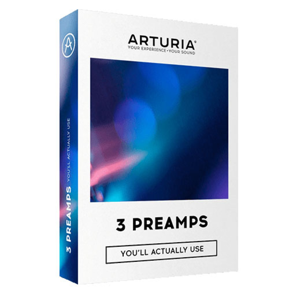 ARTURIA 3 PREANP ヴィンテージプリアンプシミュレーション プラグインソフトウェア