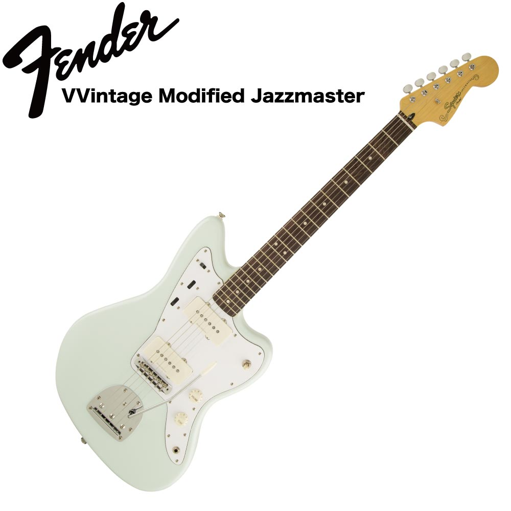 Squier Vintage Modified Jazzmaster Laurel Fingerboard SNB エレキギター
