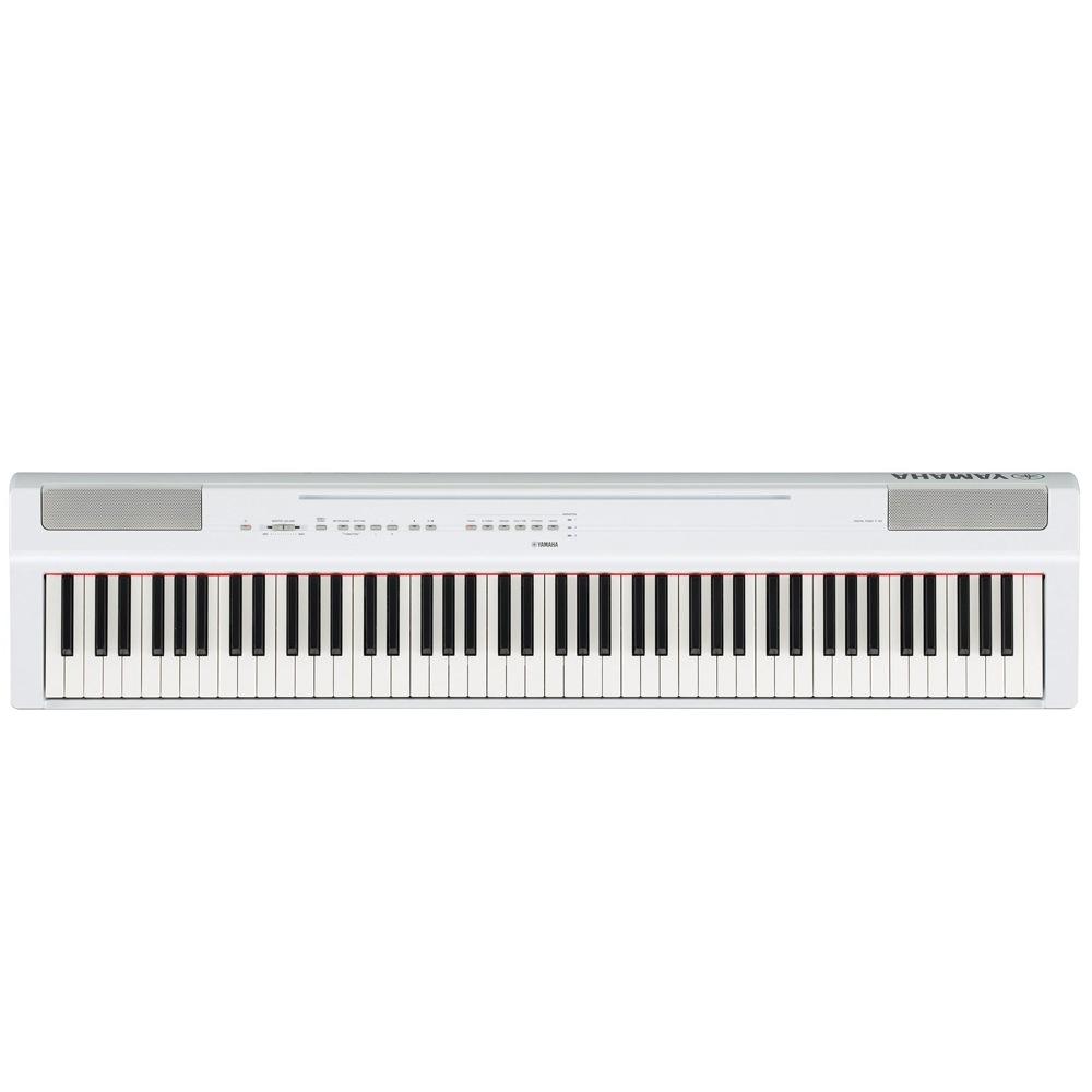 YAMAHA P-125WH ホワイト 電子ピアノ