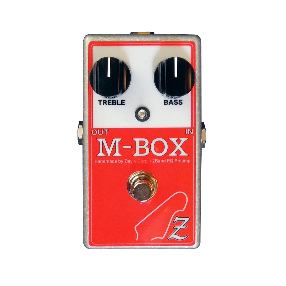 ATELIER Z M-BOX OUT BOARD BASS PREAMP ベース用プリアンプ
