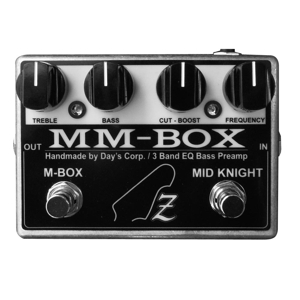 ATELIER Z MM-BOX OUT BOARD BASS PREAMP ベース用プリアンプ