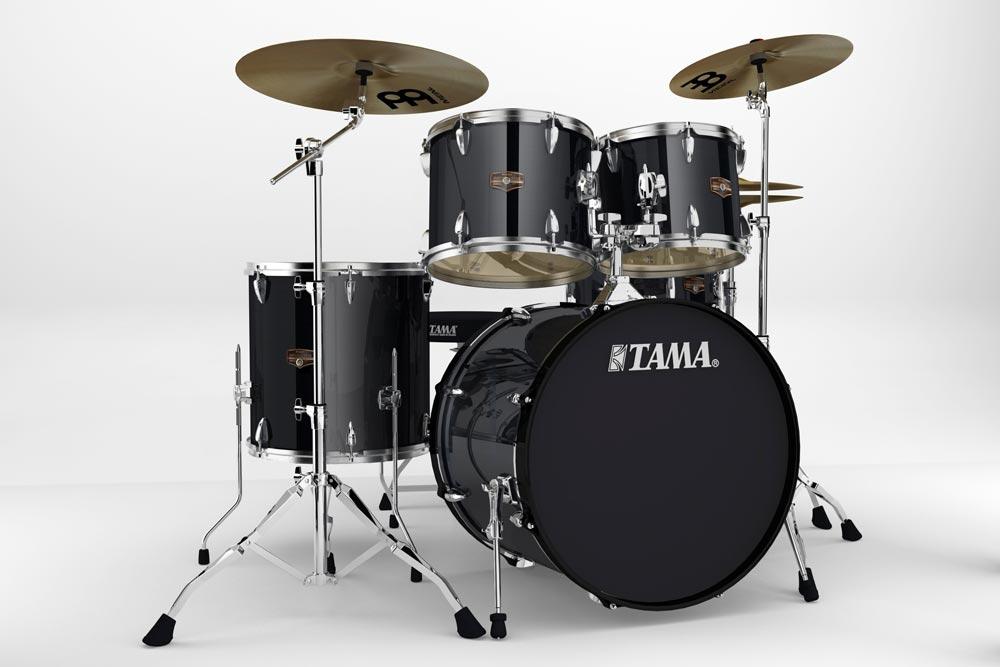 TAMA IP52H6HC HBK IMPERIALSTAR ドラムセット
