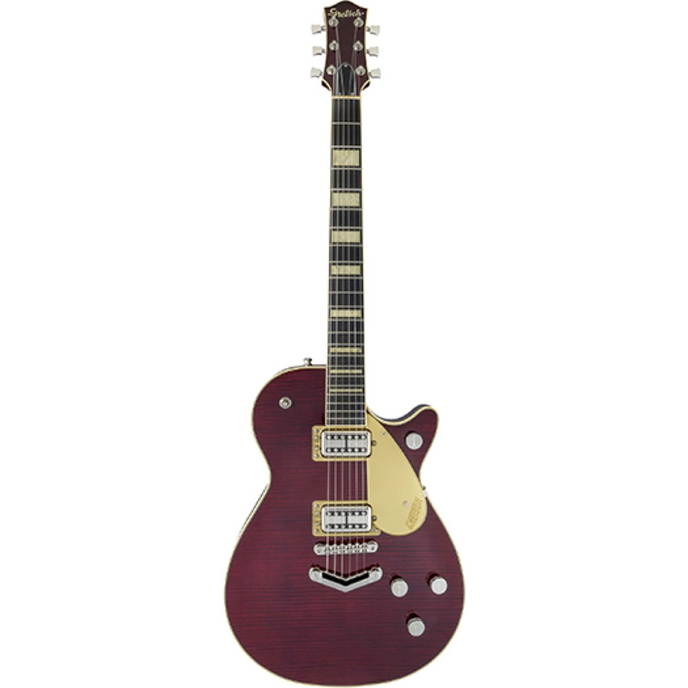GRETSCH G6228FM Players Edition Jet BT with V-Stoptail Dark Cherry Stain エレキギター