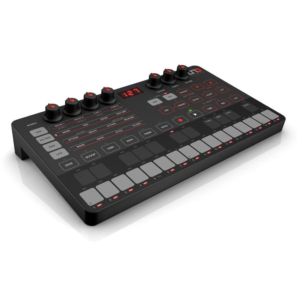IK Multimedia UNO Synth モノフォニック ハードウェア シンセサイザー