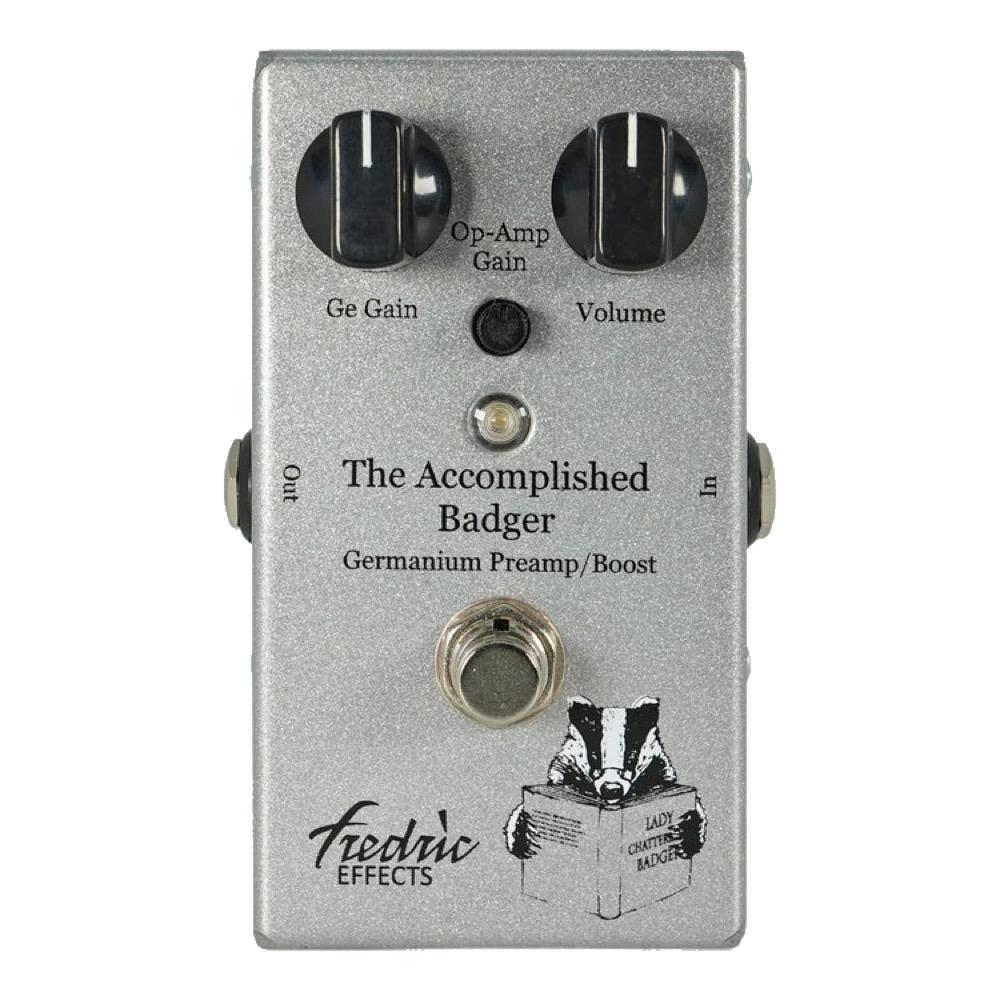 Fredric Effects Accomplished Badger ブースター ギターエフェクター