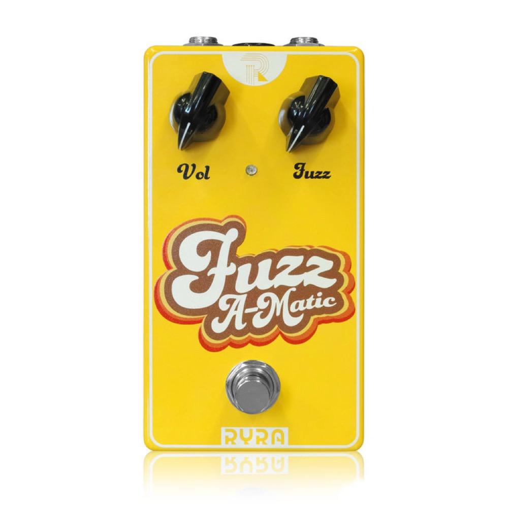 RYRA Fuzz A-Matic Yellow ギターエフェクター