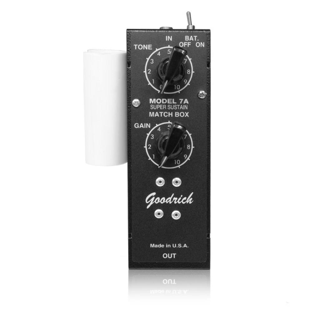 Goodrich Sound 7A SS Matchbox ブースター