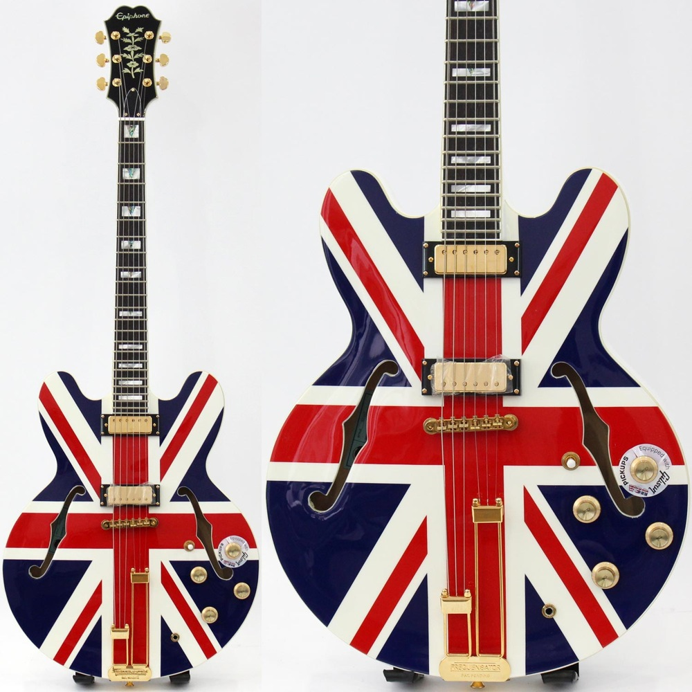 Epiphone Limited Edition Union Jack Sheraton Outfit シェラトン ユニオンジャック エレキギター 2ndアウトレット