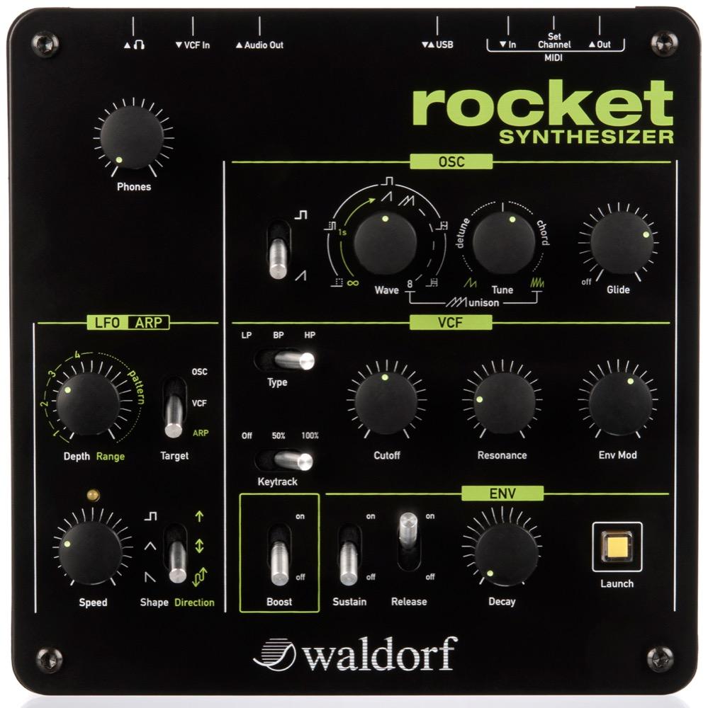 Waldorf Rocket アナログシンセサイザー