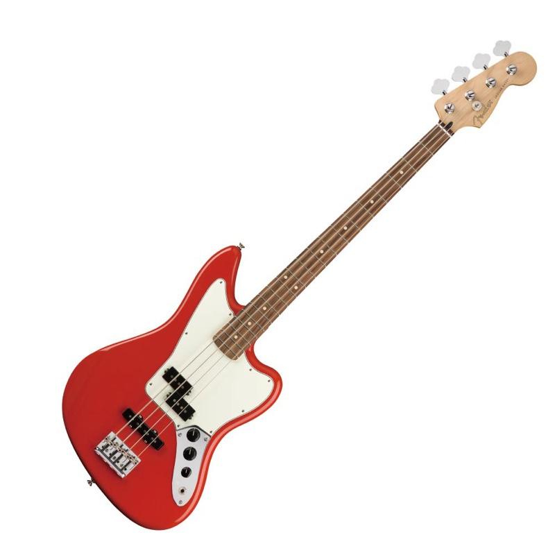Fender PF Player Jaguar Bass Bass Player PF Sonic Red エレキベース, カサマツチョウ:da036848 --- sunward.msk.ru