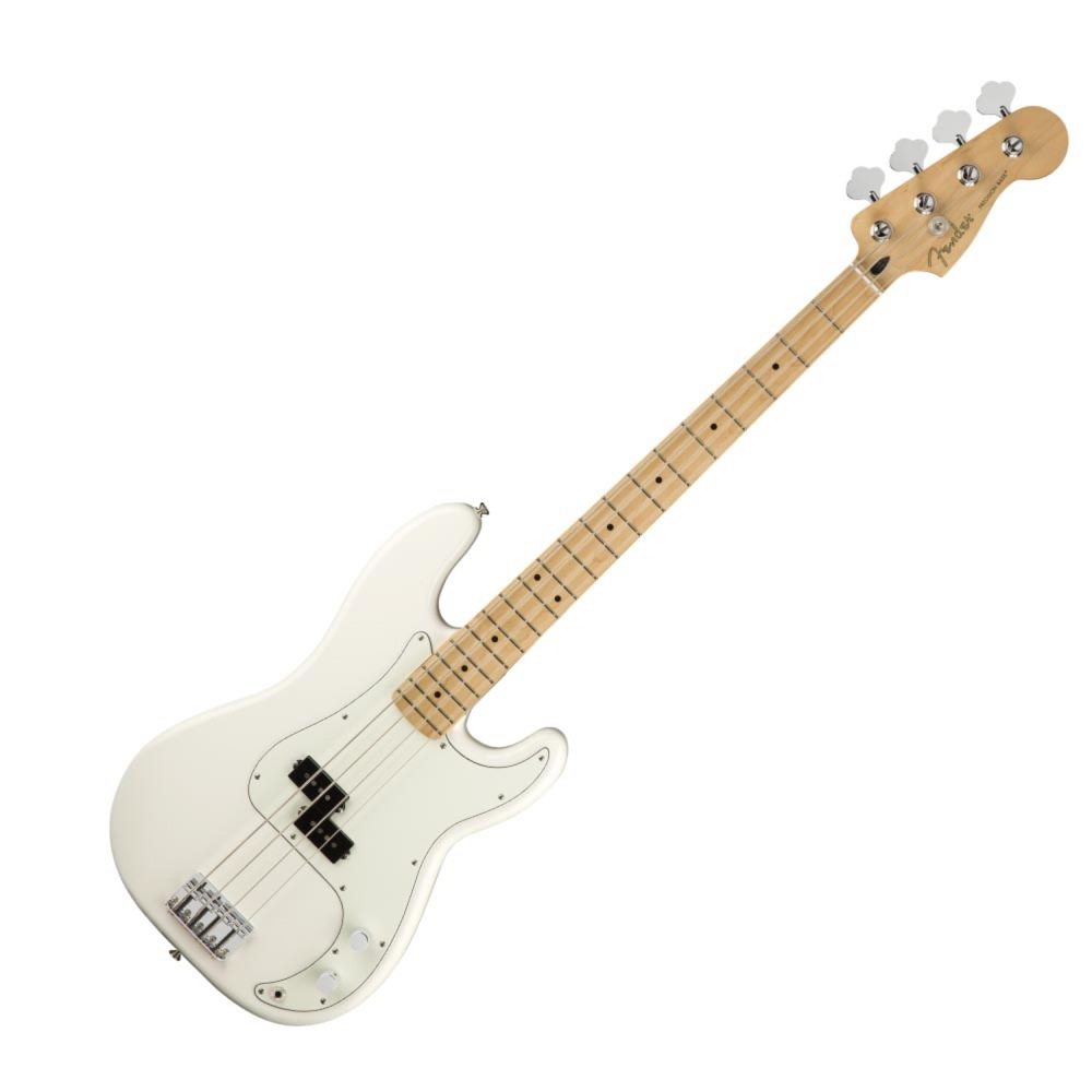 Fender Player Precision Bass MN Polar White エレキベース