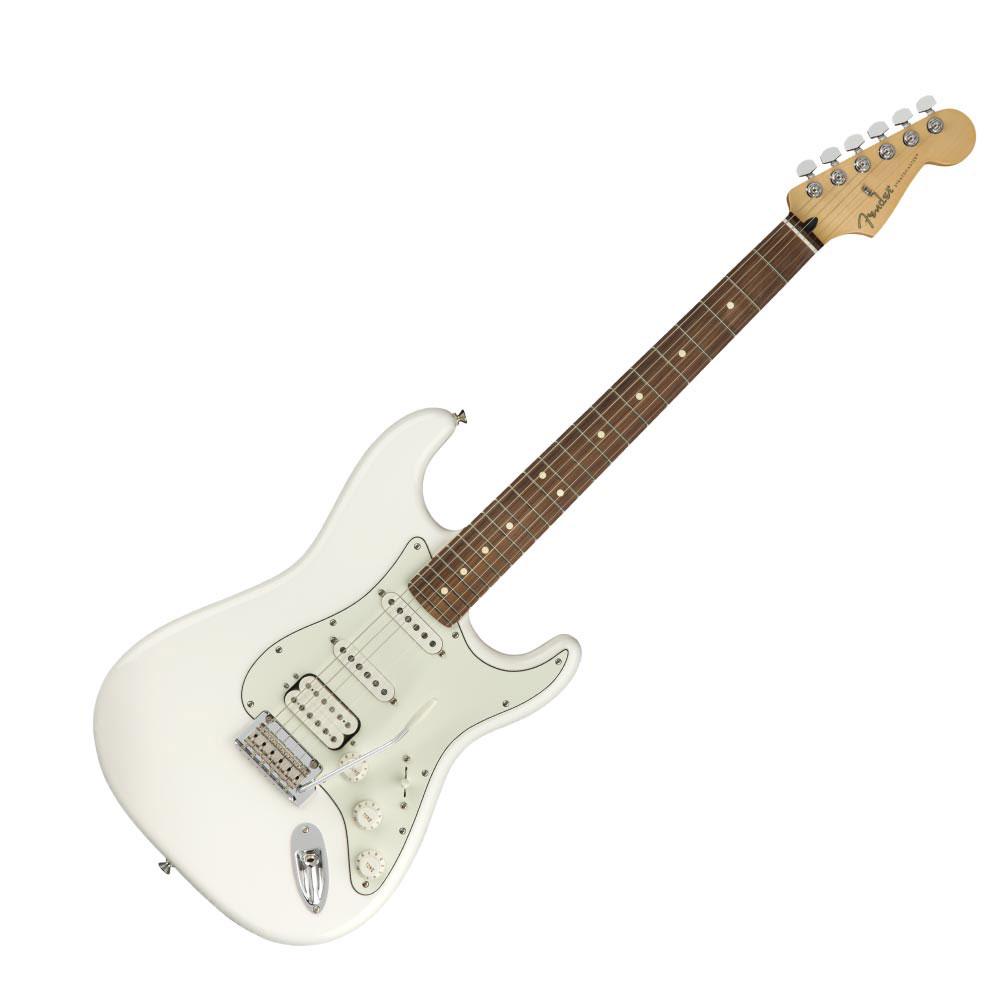 Fender Player Stratocaster HSS PF Polar White エレキギター